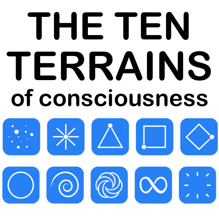 The Ten Terrains Of Consciousness is a groundbreaking new Model that explains the ten different paradigms in our world and humanty's evolutionary spiritual journey.
