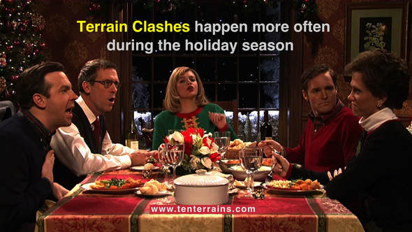 Blog Article: Why So Many 'Terrain Clashes' Happen During The Holidays