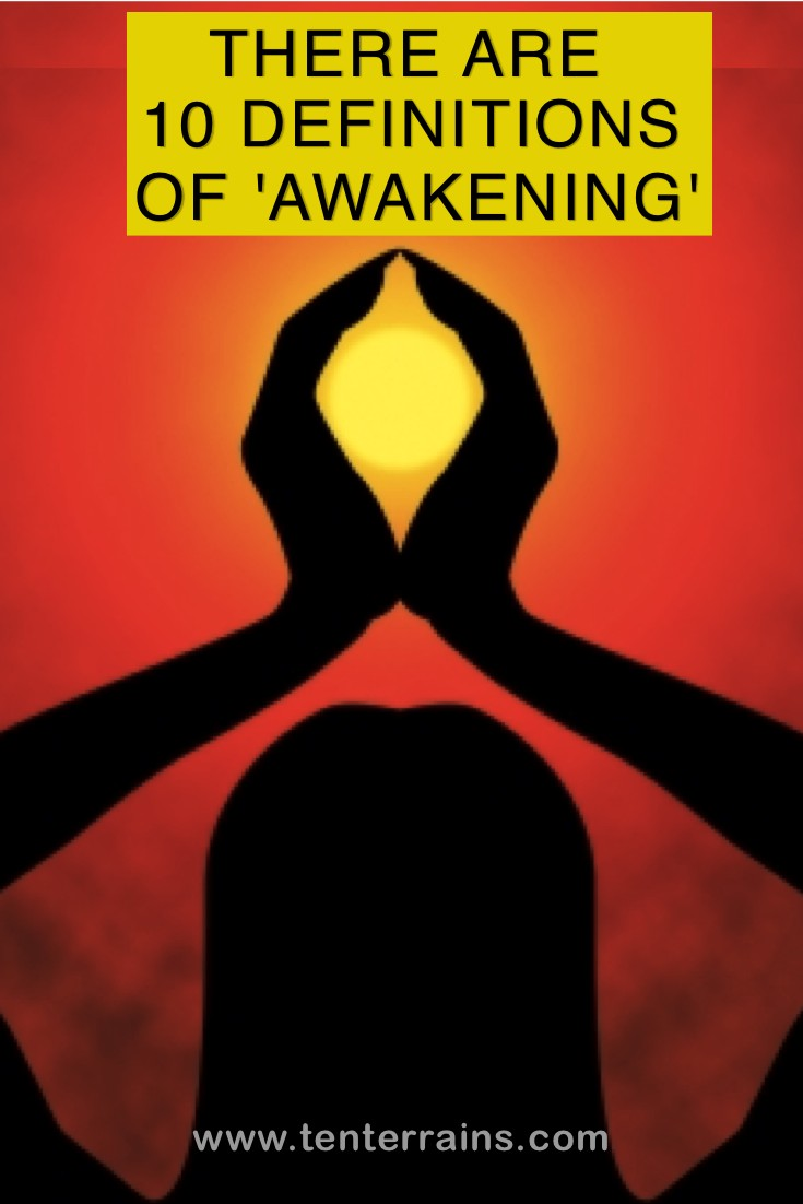 Read this article about the Ten Terrains Of Consciousness, to discover the 10 definitions of awakening. www.tenterrains.com