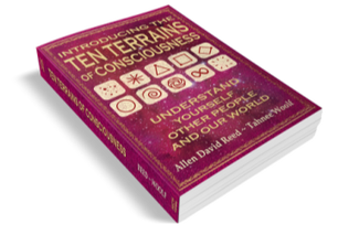 Get this fascinating book to learn all about the Ten Terrains Of Consciousness. Available NOW on Amazon!